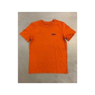 Beatnuts Small Logo ECO-T-Shirt - black heather orange black