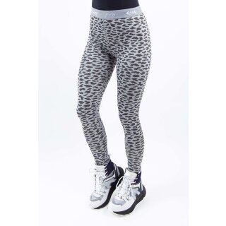 Icecold Tights 20 - grey leopard