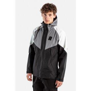Modular Tech Jacket - black grey white