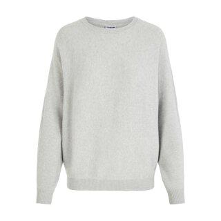 Ship Neck Knit - light grey melange