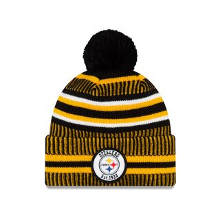 ONF19 Sport Knit Steelers Beanie - black yellow white