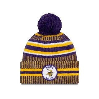 ONF19 Sport Knit Vikings Beanie - purple yellow white