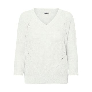 Sian Neck Knit - bright white
