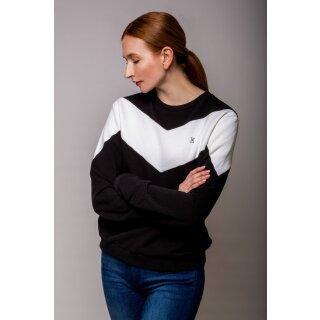 Emily Basic Sweatshirt - b&w