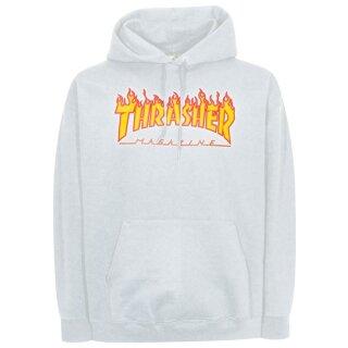 Flame Kapuzensweater - white