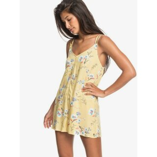 Blissing Me Printed Dress - yellow