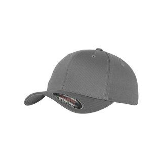Flexfit Wooly Combed Cap - grey