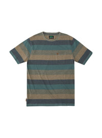 Riverton Knit T-Shirt - heather blue