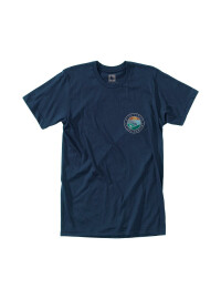 Waveform Eco T-Shirt- navy
