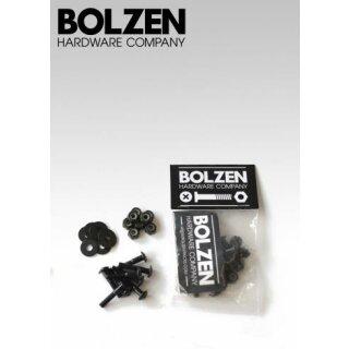 """Nuts & Bolts Panhead Inbus Montagesatz - black 1,25"""""""