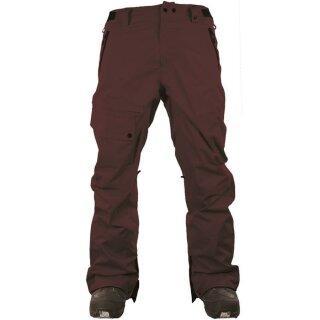 Daily 2 Pants - maroon - L