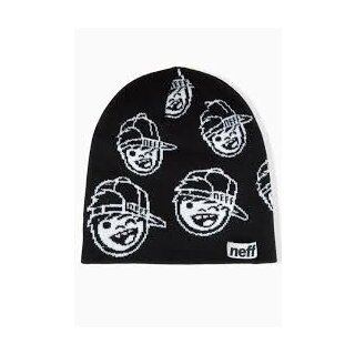 Youth Repeater Beanie - black